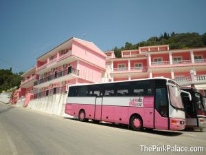 Pink Palace Corfu Main Building
