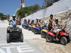 Quad safaris around Corfu