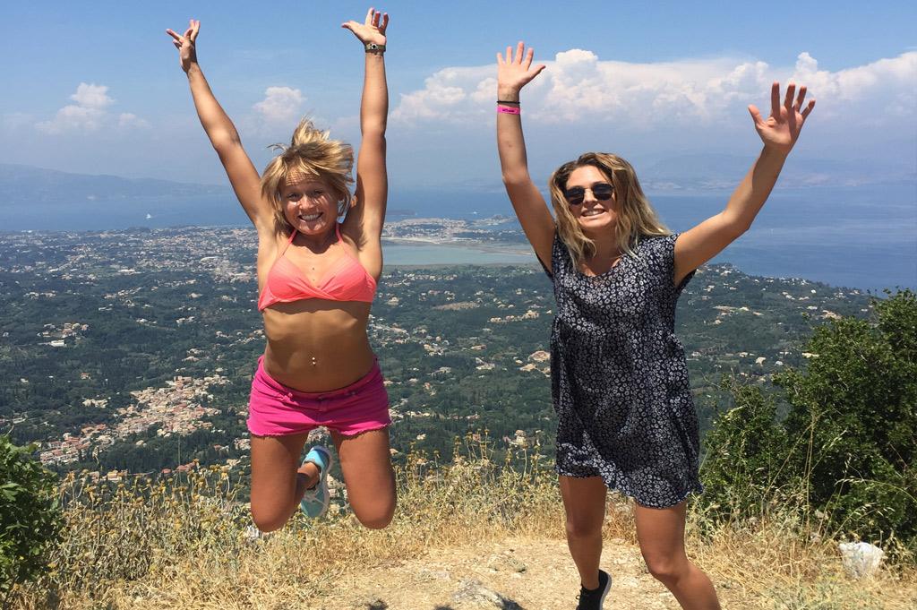 Corfu Activities Pink Palace Hostel